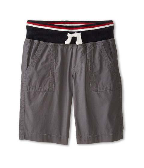 Tommy Hilfiger Kids - Mickey Rib Shorts (Toddler/Little Kids) (As Is Grey) Boy