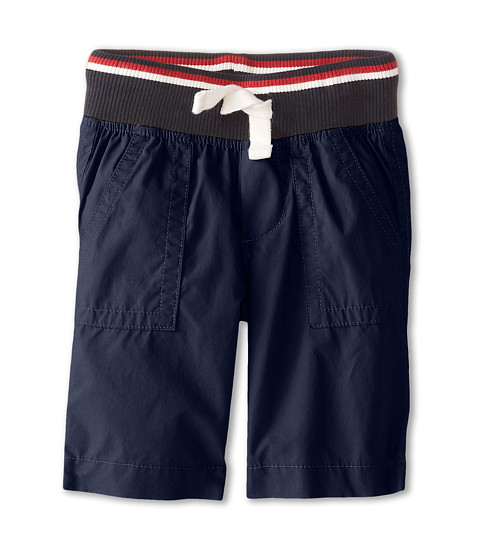 Tommy Hilfiger Kids - Mickey Rib Shorts (Toddler/Little Kids) (Swim Navy) Boy