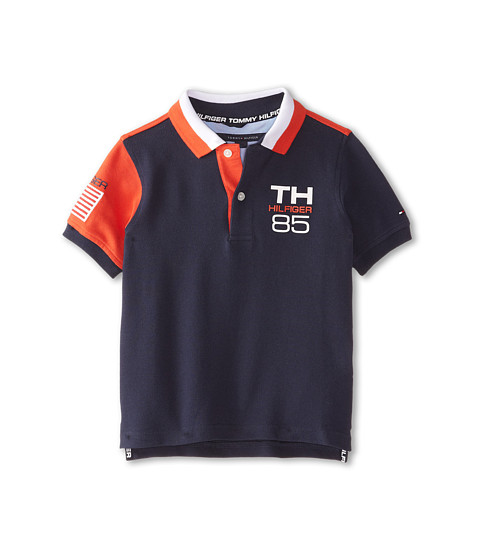 Tommy Hilfiger Kids - USA Polo (Toddler/Little Kids) (Swim Navy) Boy