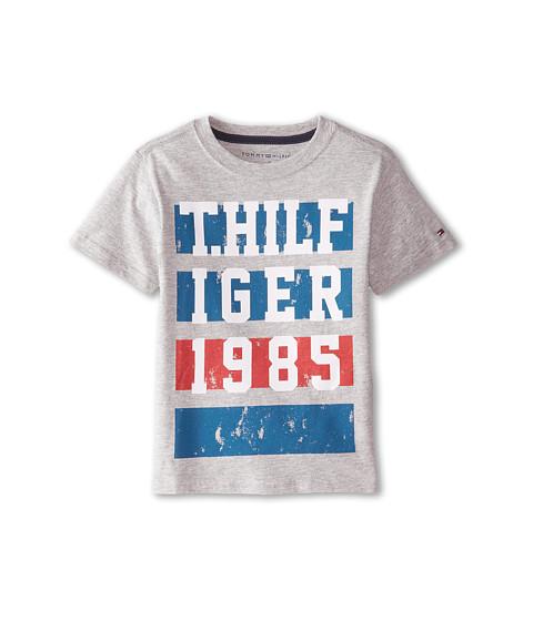 Tommy Hilfiger Kids - Maynard Tee (Toddler/Little Kids) (TH Grey Heather) Boy
