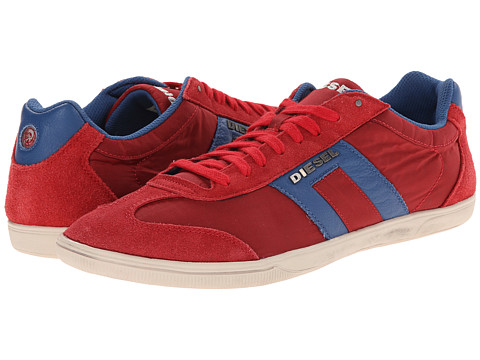 Diesel - Happy Hours Vintagy Lounge (Tango Red/Dark Blue) Men's Lace up casual Shoes