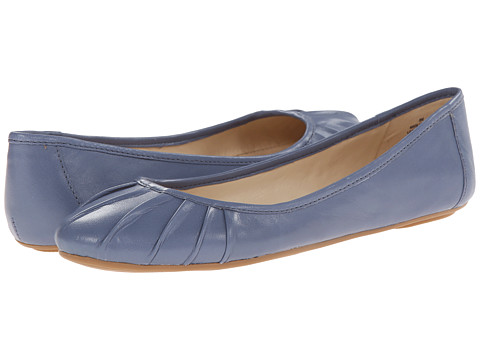 Nine West - Blustery (Medium Blue Leather 1) Women