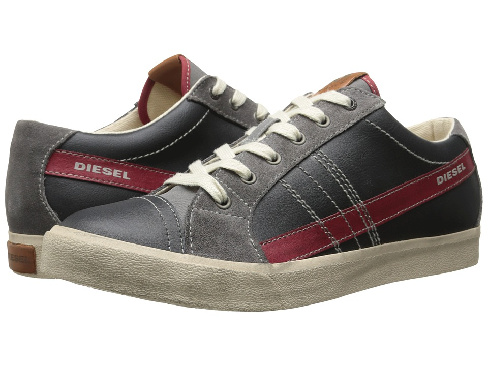 Diesel - D-Velows D-String Low (Black/Grey Gargoyle) Men