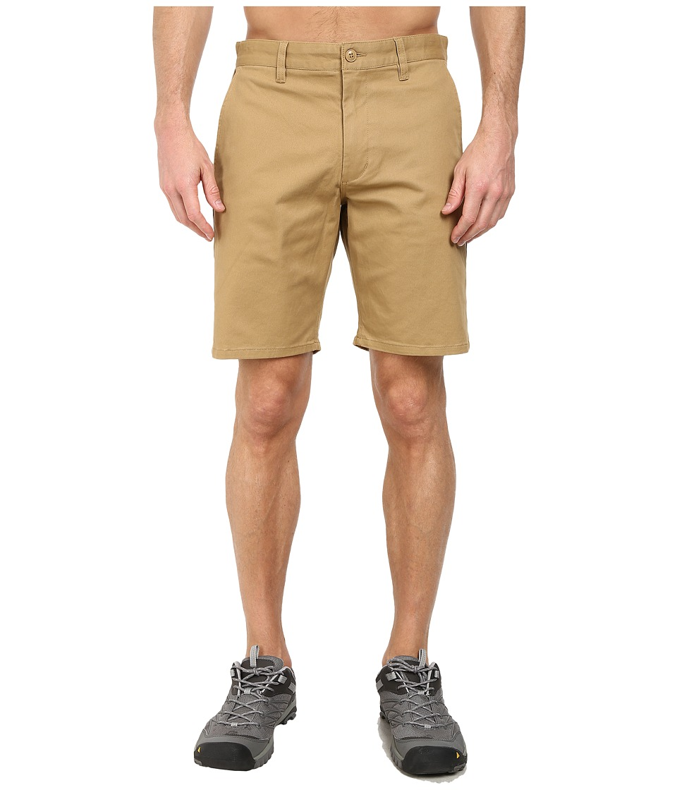 Obey - Working Man Shorts (Dark Khaki) Men's Shorts