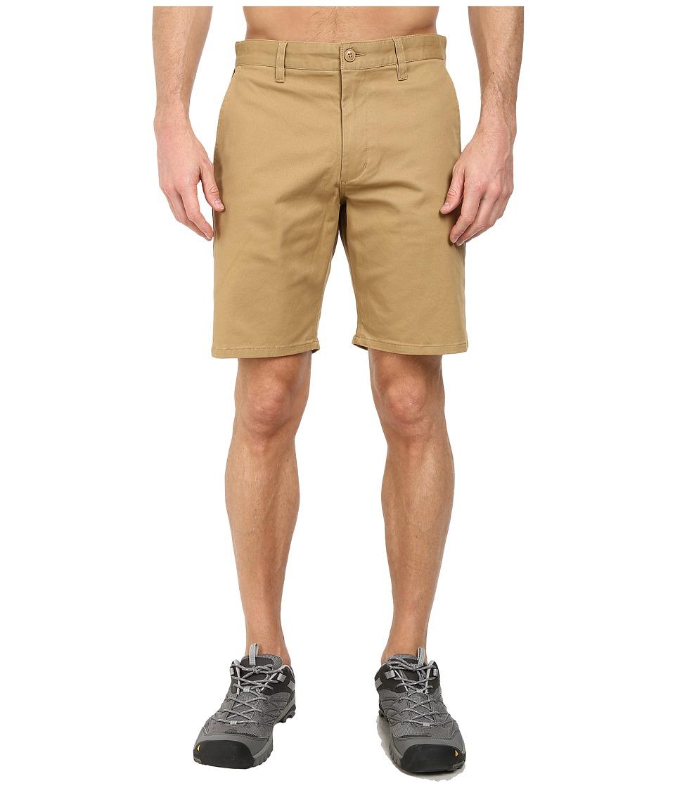 Obey - Working Man Shorts (Dark Khaki) Men