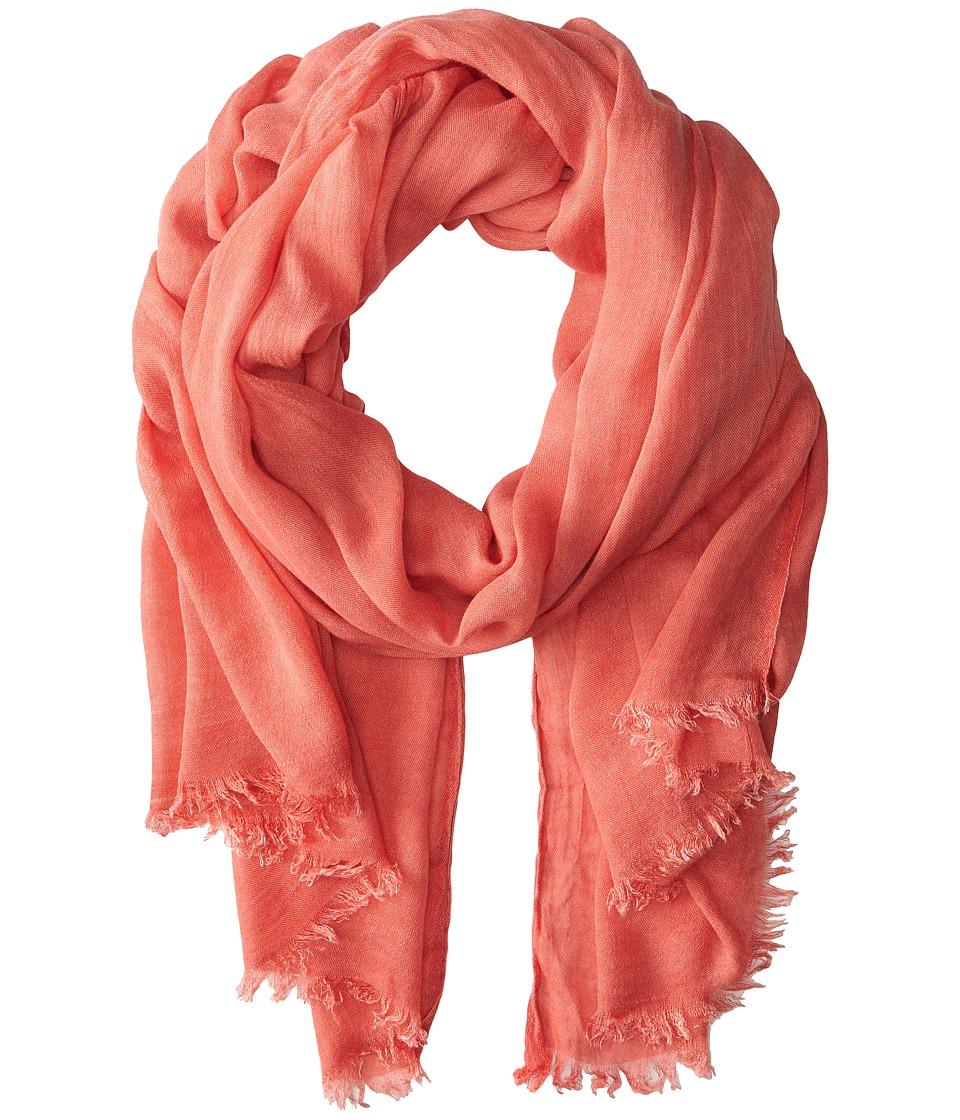 San Diego Hat Company - BSS1394 Viscose Scarf w/ Distressed Washing (Cayenne) Scarves