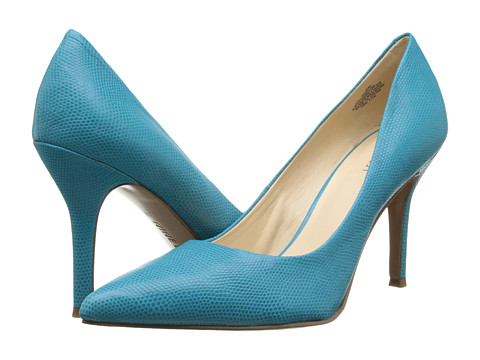 Nine West - Flax (Turquoise Reptile) High Heels