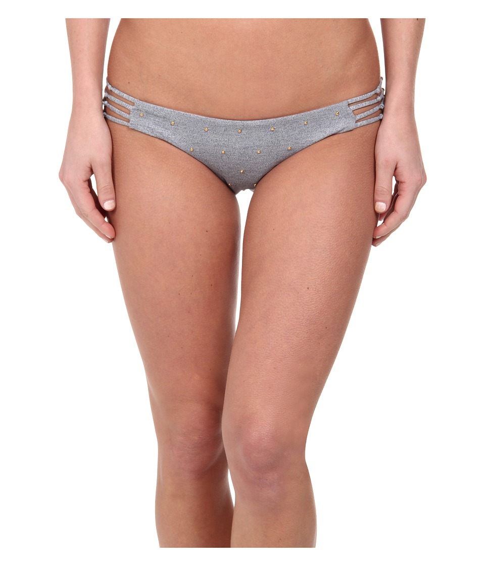 Amuse Society - Native Micro Stud (Snow Heather Grey) Women's Swimwear