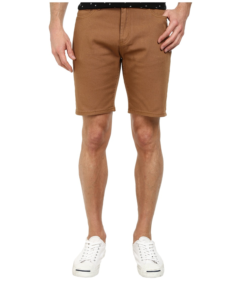 Obey - New Threat Twill Shorts (Tobacco Brown) Men's Shorts