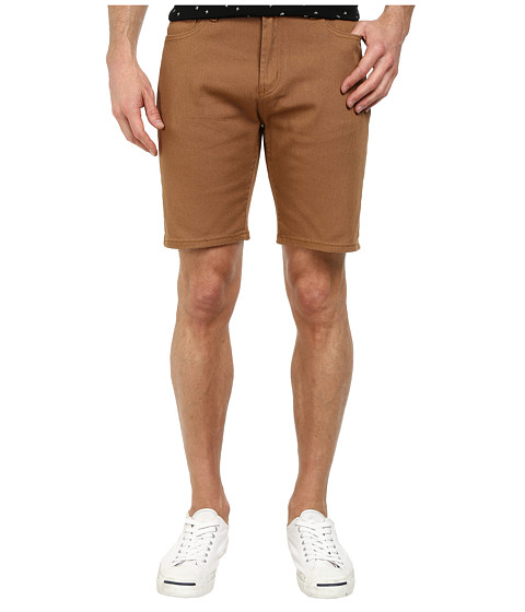 Obey - New Threat Twill Shorts (Tobacco Brown) Men