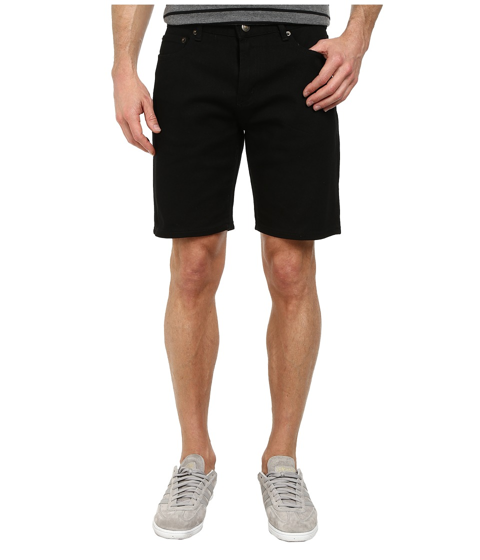 Obey - New Threat Twill Shorts (Black) Men's Shorts