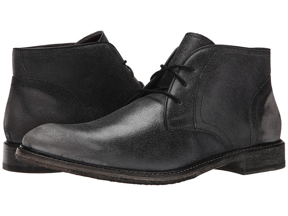 John Varvatos - Sid Crepe Chukka (Lead) Men's Shoes