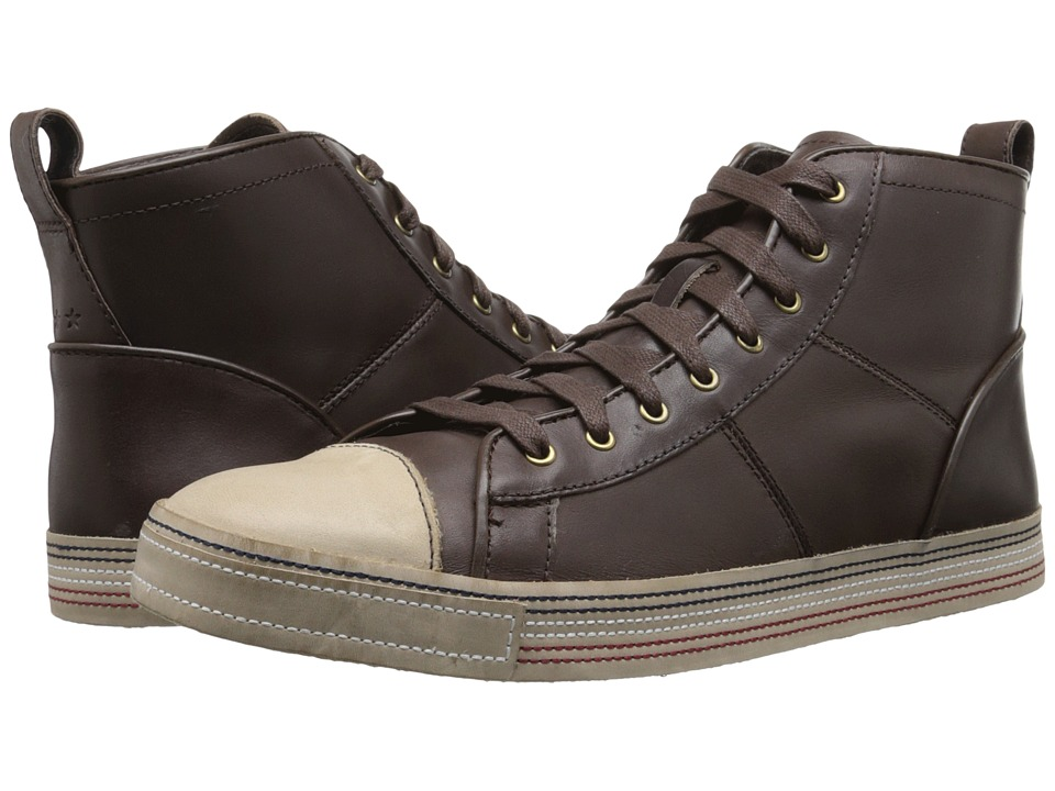 John Varvatos Mick Sneaker HI (Dark Brown) Men