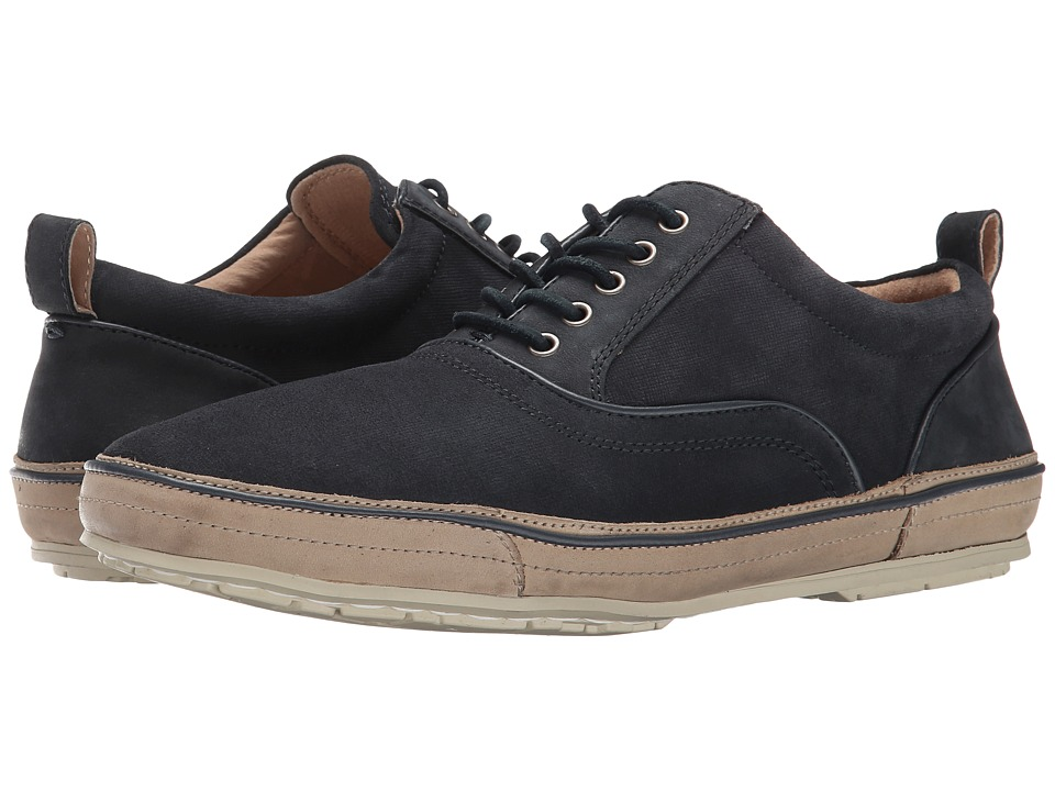 John Varvatos - Redding Oxford (Midnight 1) Men's Lace up casual Shoes