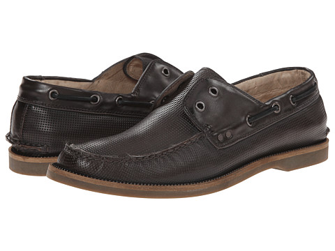 John Varvatos - Drifter Boat Shoe (Lead) Men