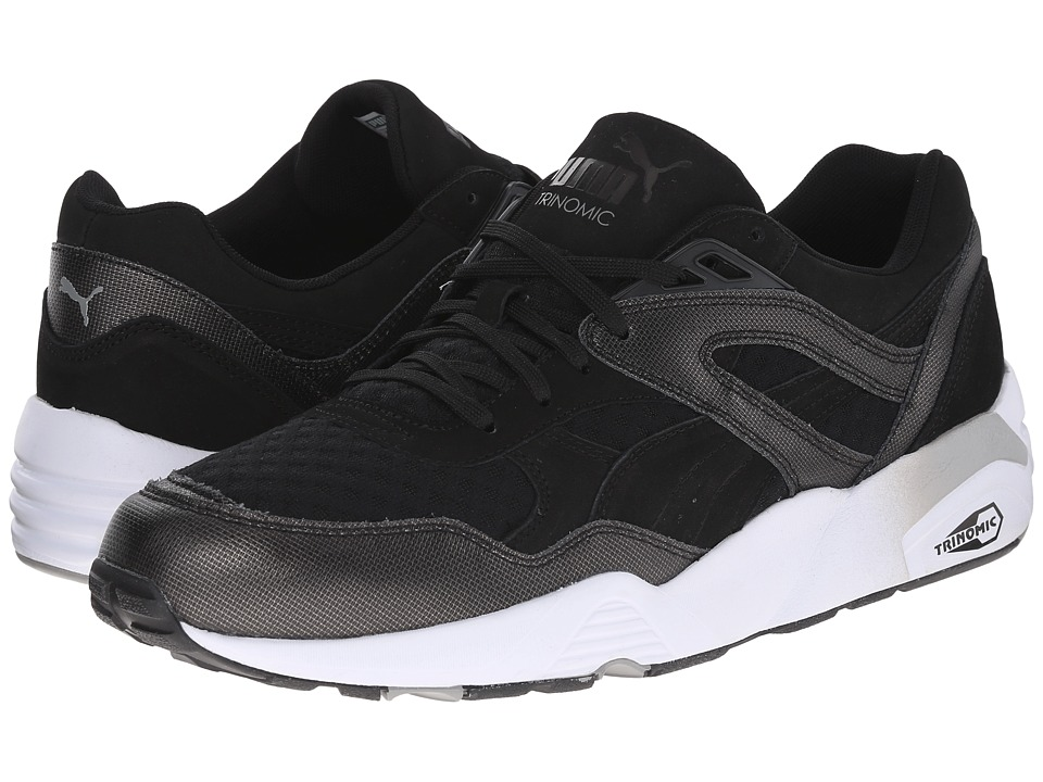 PUMA Sport Fashion - R698 Tech (Black) Men's Shoes