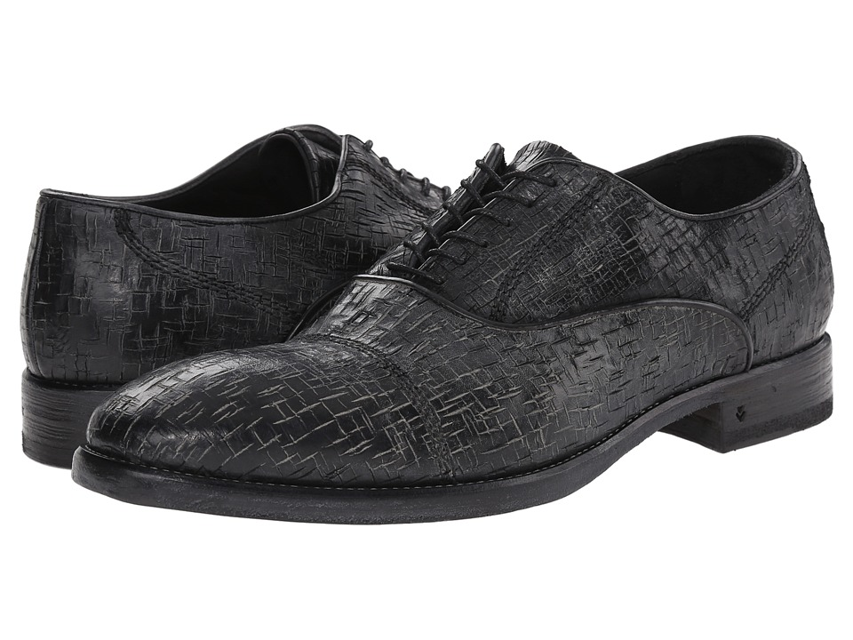 John Varvatos Freeman Oxford (Mineral Black) Men