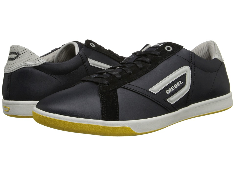 Diesel - Eastcop Grantor Low (Black/Pumice Stone) Men's Lace up casual Shoes