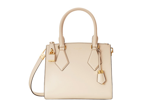 Michael Kors - Casey Small Satchel (Vanilla) Satchel Handbags