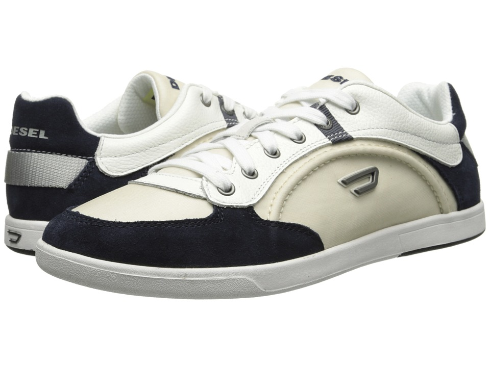 Diesel - Eastcop Starch (Silver Birch/Blue Nights) Men's Lace up casual Shoes