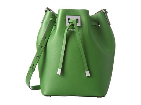 Michael Kors - Miranda Drawstring Messenger (Lawn) Cross Body Handbags