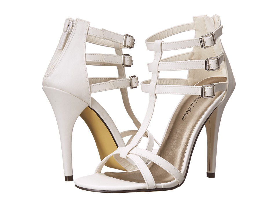 Michael Antonio - Jalen (White) High Heels