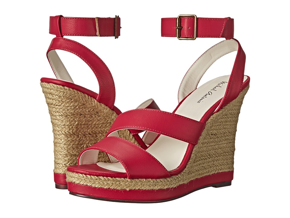 Michael Antonio - Gate-Pu (Fuchsia) Women's Wedge Shoes