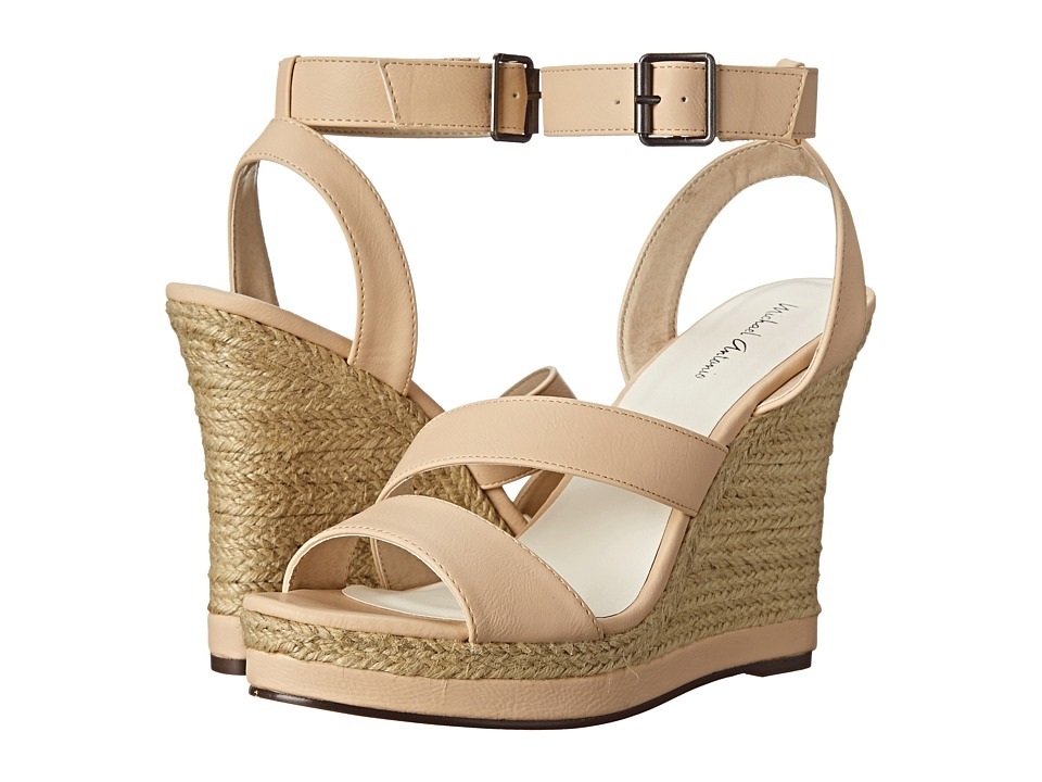 Michael Antonio - Gate-Pu (Natural) Women's Wedge Shoes
