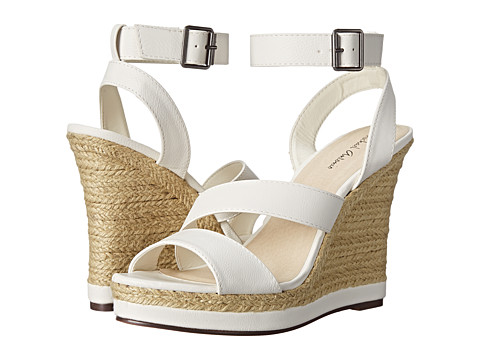 Michael Antonio - Gate-Pu (White) Women's Wedge Shoes