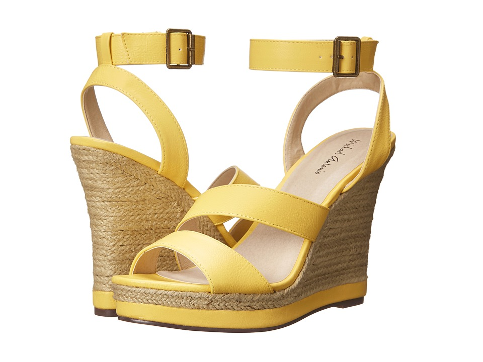 Michael Antonio - Gate-Pu (Yellow) Women's Wedge Shoes