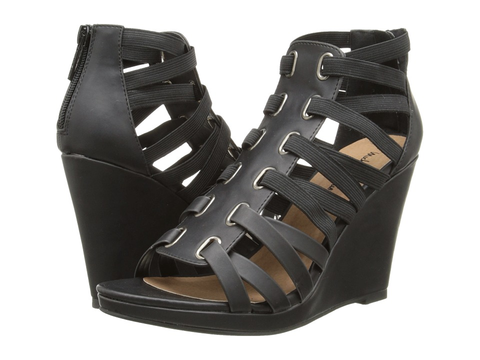 Michael Antonio - Ameer (Black) Women's Wedge Shoes