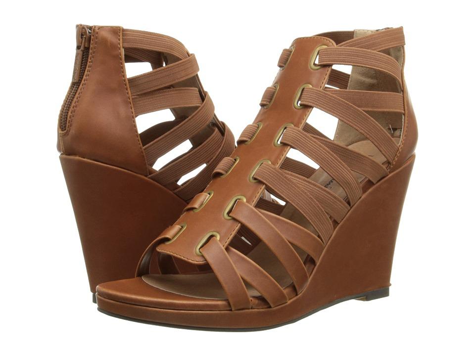 Michael Antonio - Ameer (Cognac) Women's Wedge Shoes
