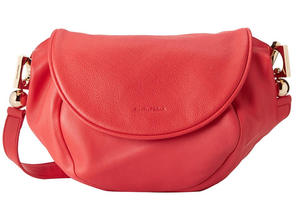 See by Chloe - Lena Cross Body (Flamboyant Red) Cross Body Handbags