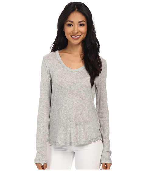 Dylan by True Grit - Sweatshirt Knit w/ Silver Bead (Vintage Heather) Women