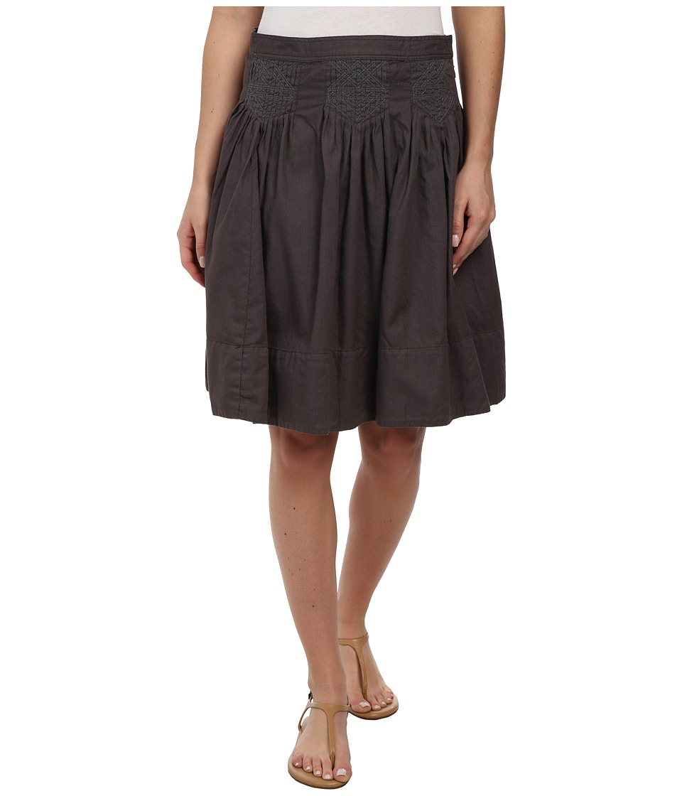 Dylan by True Grit - Stitchdown Skirt (Charcoal) Women's Skirt