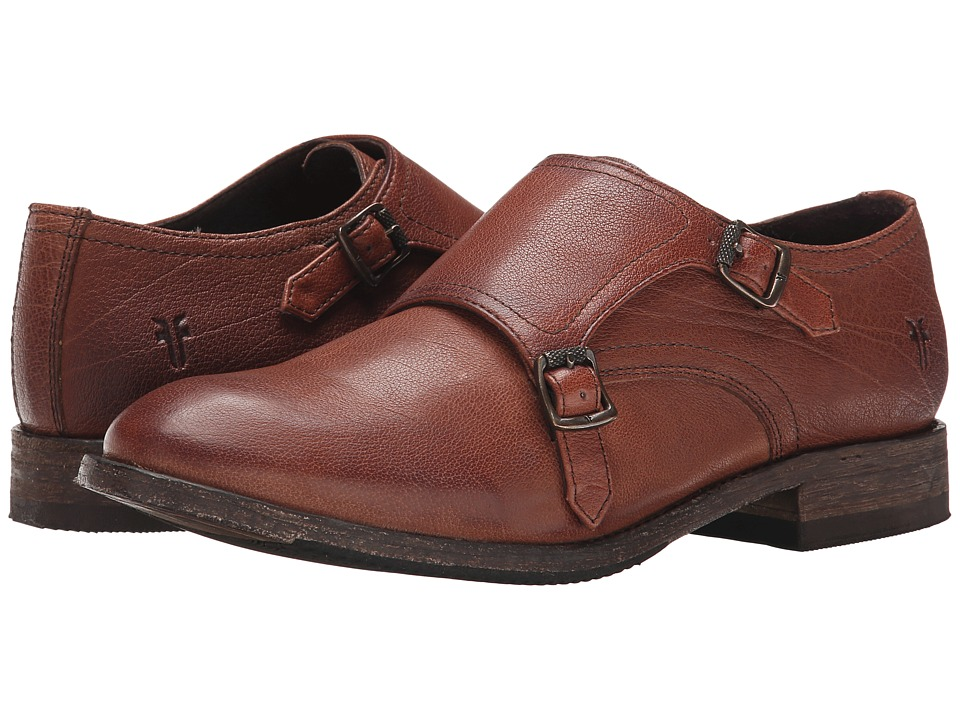 Frye Ethan Double Monk (Whiskey Buffalo Leather) Women