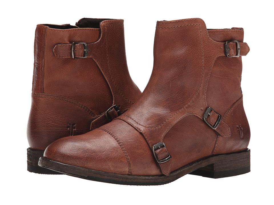 Frye Ethan Triple Monk (Whiskey Buffalo Leather) Women