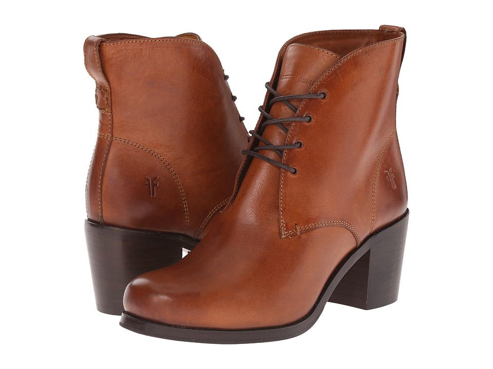Frye Kendall Chukka (Cognac Smooth Full Grain) Women