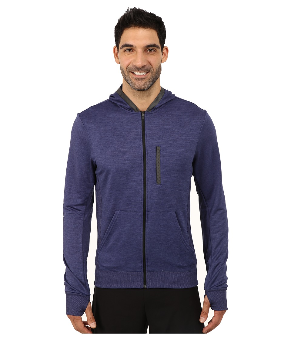 adidas - Beyond The Run Hoodie (Midnight Indigo) Men