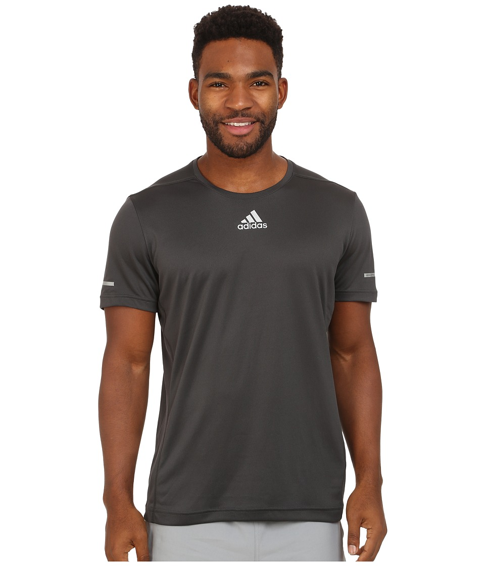 adidas - Sequencials Money S/S Tee (DGH Solid Grey) Men's T Shirt