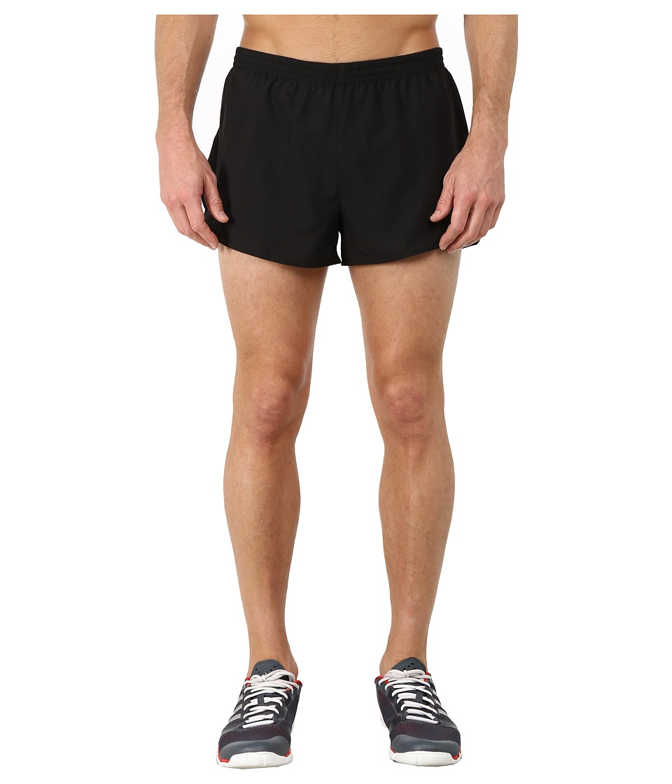 adidas - Sequencials Split Shorts (Black) Men's Workout