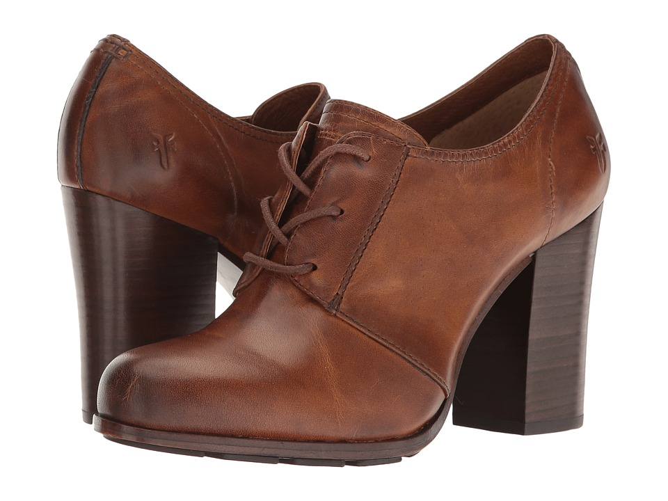 Frye - Parker Oxford (Tan Antique Pull Up) High Heels