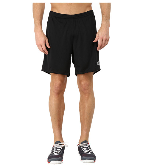 adidas - Response Dual Shorts (Black/Black) Men's Workout