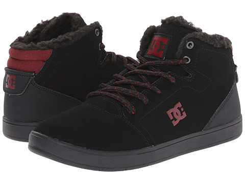DC Kids - Crisis High WNT (Big Kid) (Black/Battleship/Athletic Red) Boys Shoes