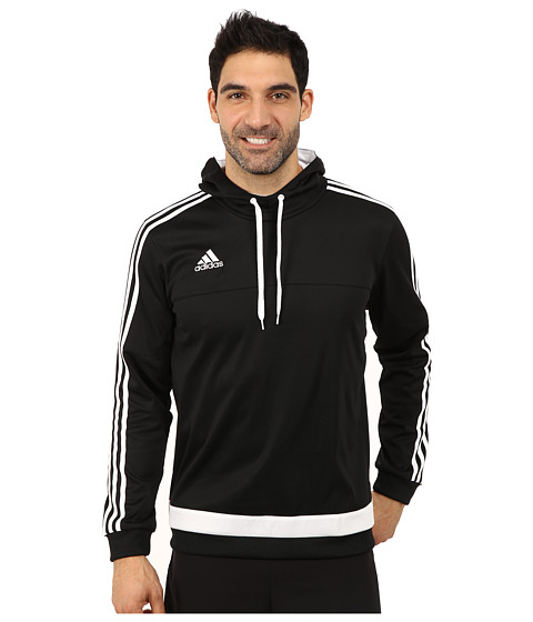 adidas - Tiro 15 Hoodie (Black/White) Men