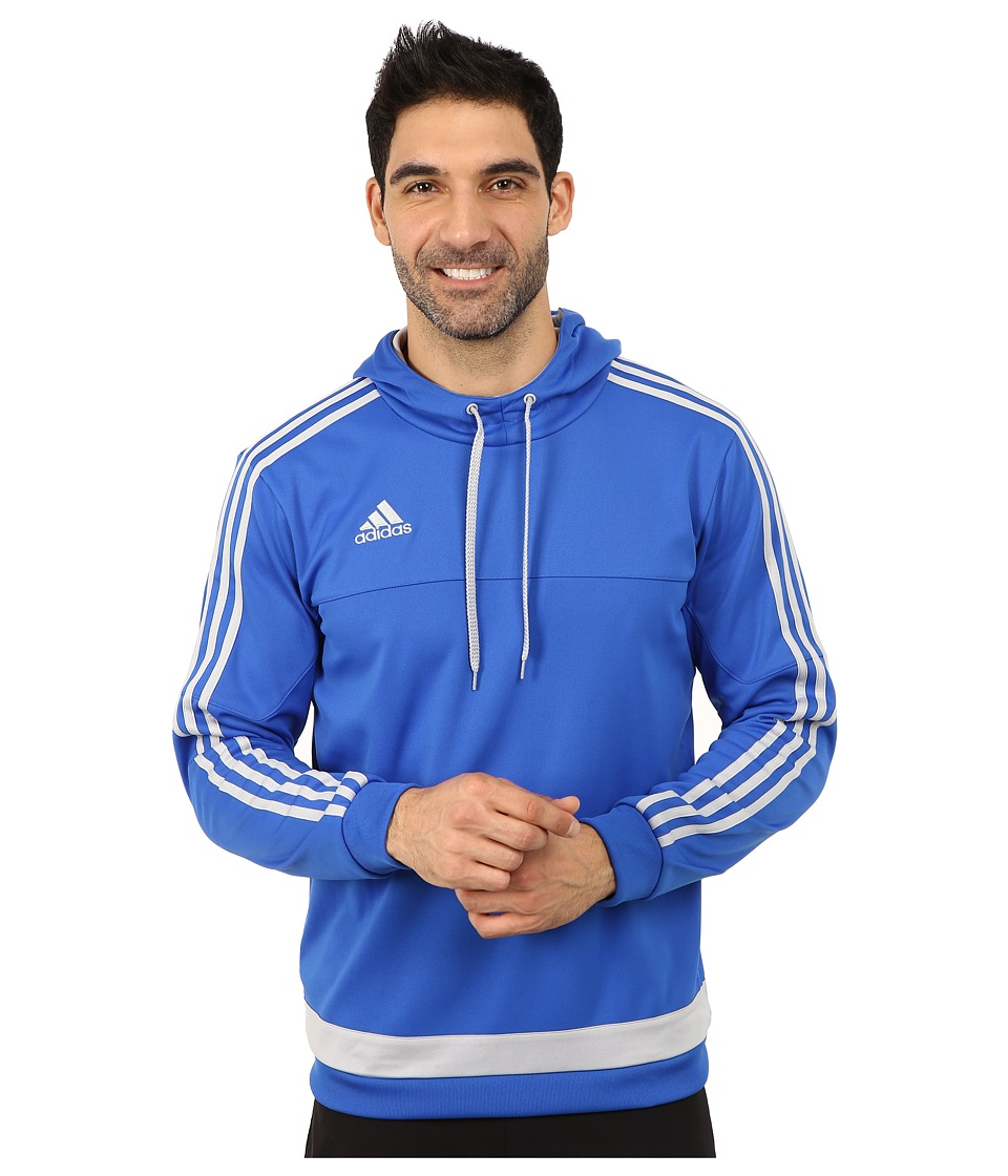 adidas - Tiro 15 Hoodie (Satellite Blue/Clear Onix) Men's Sweatshirt