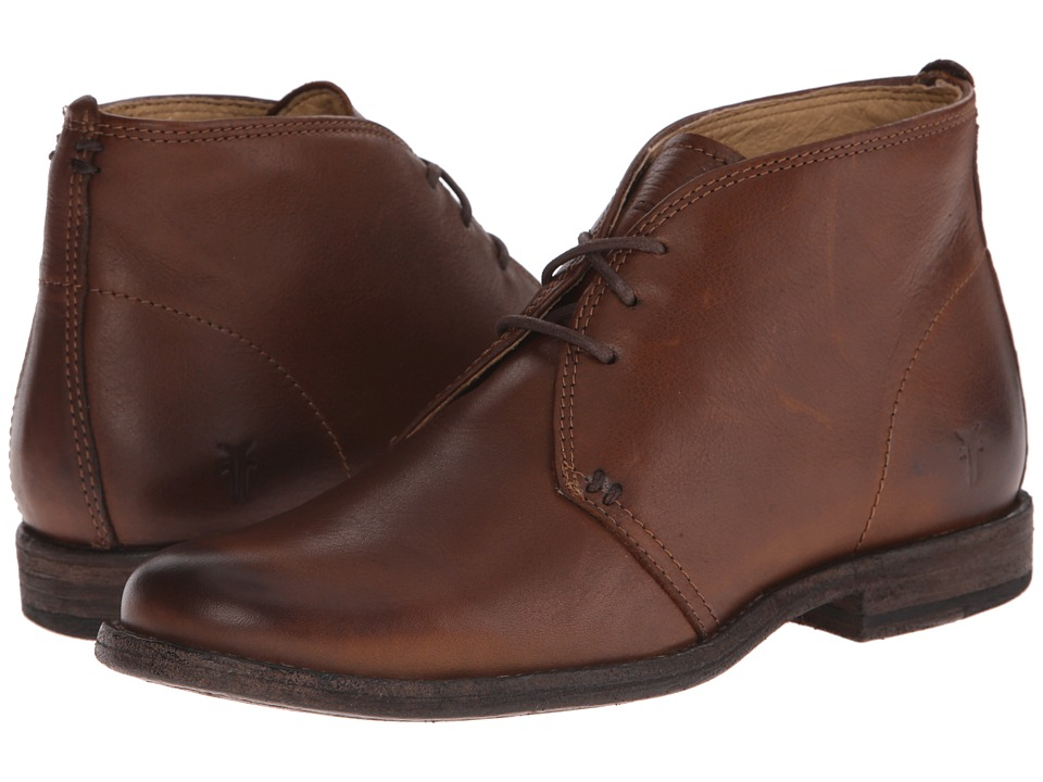 Frye Phillip Chukka (Cognac Soft Vintage Leather) Women