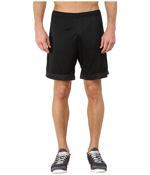 adidas - Tastigo 15 Dry Dye Short (Black/Dark Grey) Men