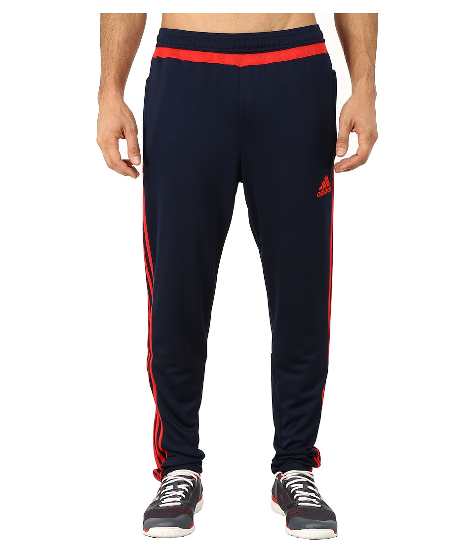adidas - Tiro 15 Training Pant (Collegiate Navy/Vivid Red) Men's Workout