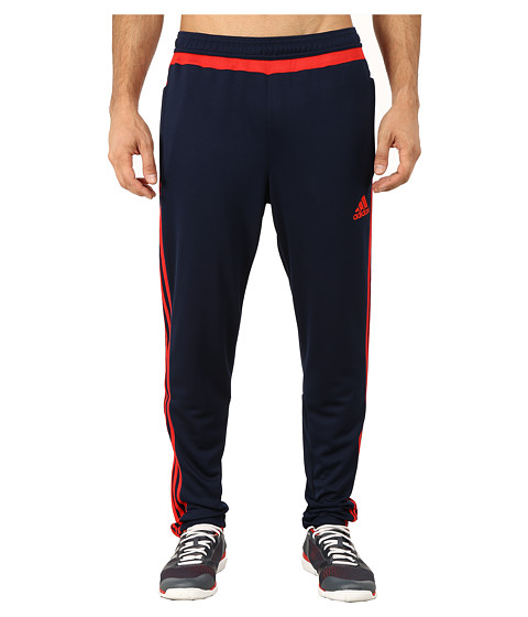 adidas - Tiro 15 Training Pant (Collegiate Navy/Vivid Red) Men's Workout